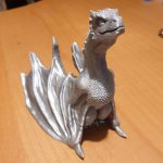 Drogon Game of Thrones Impression 3D
