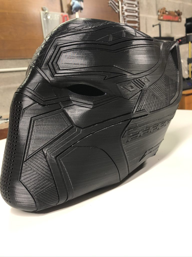 Sakata PETG Black Panther Mask